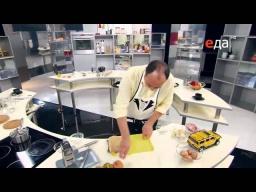 Шницель из свинины и картофель по-деревенски рецепт от шеф-повара / Илья Лазерсон/ австрийская кухня