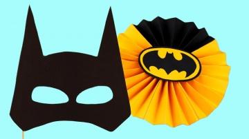 Трум Трум  5 аксессуаров для вечеринки в стиле Бэтмена