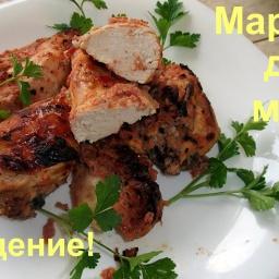 Ольга Уголок - Курица в маринаде Очень вкусный маринад для шашлыка из любого мяса
