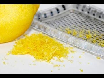 Лазерсон Как правильно натереть цедру лимона на тёрке Кулинарный ликбез