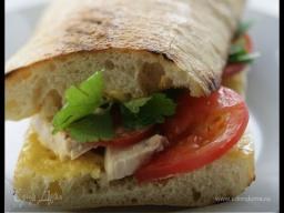 Юлия Высоцкая — Сэндвич с курицей и домашним майонезом