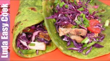 Позитивная Кухня НЕОБЫЧНАЯ ШАУРМА ПРЯНЫЙ КУРИНЫЙ РОЛЛ В ЛАВАШЕ | CHICKEN TORTILLA RECIPE