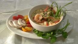 Тайский суп Том Ям  - Рецепт Бабушки Эммы