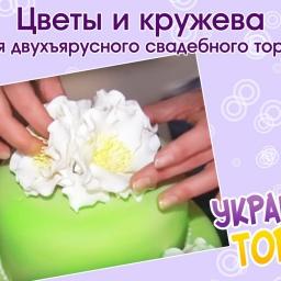 Мастер класс украшения торта мастикой