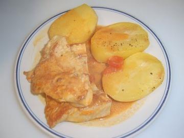 Маринкины Творинки Индюшиная грудка с картошкой