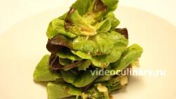 Салат листовой по-королевски - Рецепт Бабушки Эммы