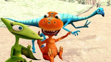 Мультфильмы про Поезд Динозавров. Путешествия во времени Бадди!