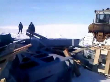 Северный путь  дороги севера | Ямал самосвал на боку
