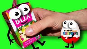 Мультики Киндер Сюрприз | Игрушки Маша и Медведь СВИТ БОКС Новые серии для детей