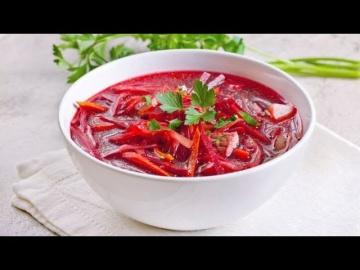 Борщ постный борщ вегетарианский рецепт от Лазерсона