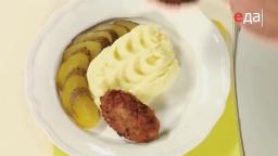 Как приготовить картофельное пюре (инструкция) от шеф-повара /  Илья Лазерсон / Обед безбрачия