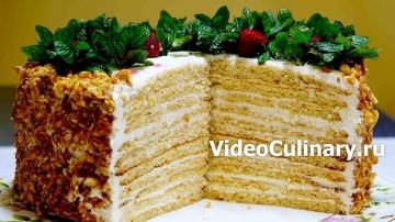 Торт Молочная девочка - Рецепт от Бабушки Эммы