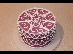 Украшение тортов - насадка с круглым отверстием