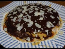 Юлия Высоцкая — Блинный торт с карамельной глазурью