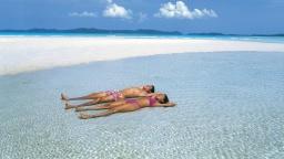Самый чистый пляж в мире: Пляж Whitehaven Beach в Австралии