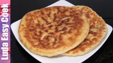 Позитивная Кухня БЫСТРЫЕ ЛЕПЕШКИ С СЫРОМ на сковороде Рецепт теста на кефире а-ля ХАЧАПУРИ - Khachap