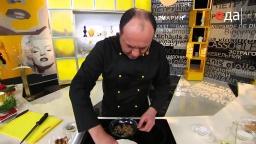 Запеченная форель в корочке из грецких орехов рецепт от шеф-повара / Илья Лазерсон