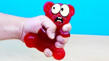 Желейный медведь Валера и антистресс