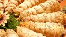 Пирожные Трубочки - Рецепт Бабушки Эммы
