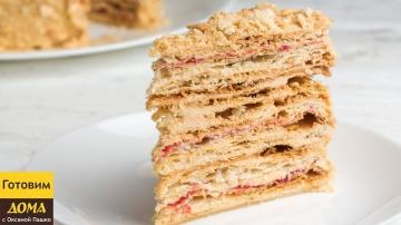 Простой и вкусный слоеный торт Степка Растрепка