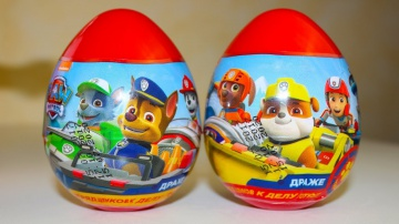 Видео про игрушки Щенячий патруль Киндер Сюрпризы Мультики для детей Развивающие игры