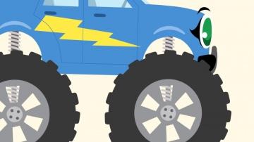 Теремок ТВ  Мультики про машинки - БИБИКА Про животных мультфильмы для самых маленьких