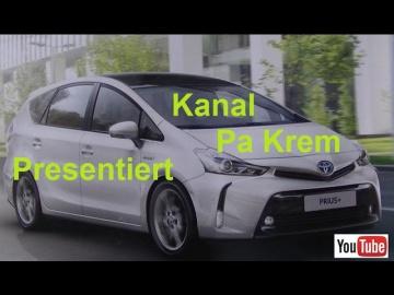 Тойота Приус +, гибридный, тест-драйв, обзор - Toyota Prius + Hybrid
