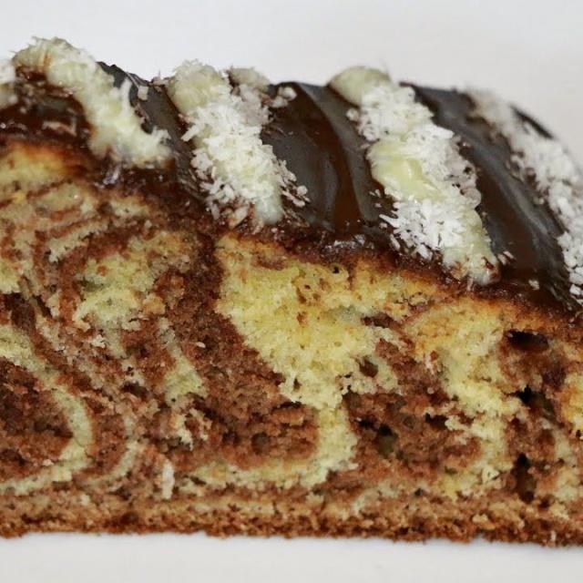 """Рецепт торта """"Зебра"""""""