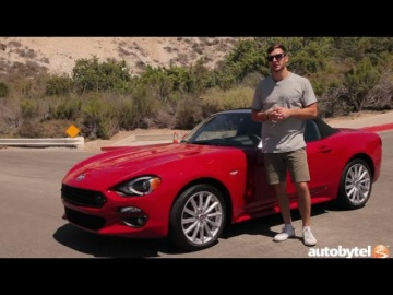 2017 FIAT 124 Spider Lusso Test Drive Video Review
