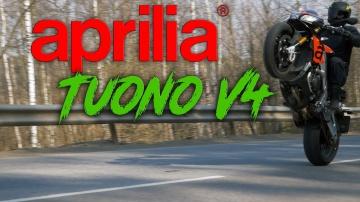 Мощнейший стритфайтер | Обзор и Тест-драйв мотоцикла Aprilia Tuono V4 1100 RR