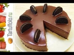 Алена Митрофанова - Рецепт - Творожный торт с шоколадом без выпечки!