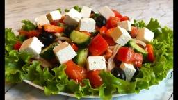 Салат Греческий | Простой Рецепт | Natasha Parkhomenko