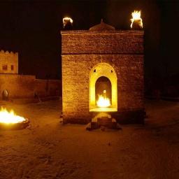 80 чудес света: Храм Огня в Баку: Настоящая азербайджанская экзотика:  Часть 28