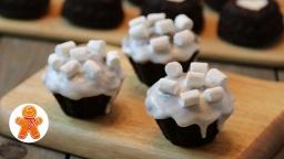 Шоколадные Кексы Маффины на Кефире |Рецепт