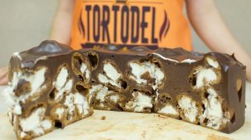 Я ТОРТодел Шоколадный десерт Профитроли в шоколаде
