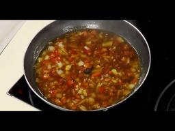 Соево-имбирный овощной китайский соус к жареной рыбе от Лазерсона / Обед безбрачия