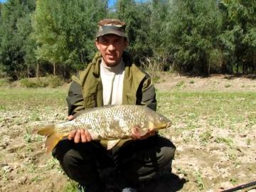 Ловля сазана. Рыбалка на Урале в Казахстане
