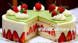 Торт Фрезье - Лучший рецепт Бабушки Эммы