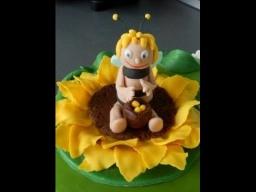 пчелка майя фигурка для торта из мастики мастер класс