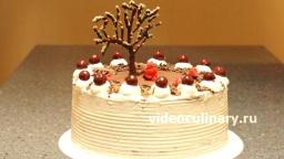 Торт Черный лес - Рецепт Бабушки Эммы