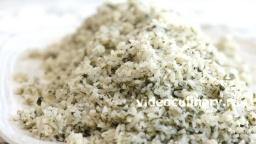 Рассыпчатый рис с зеленью - Рецепт Бабушки Эммы
