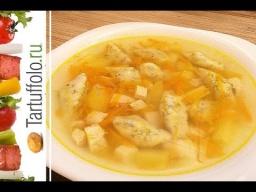 Алена Митрофанова -  Суп с творожными галушками