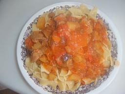 Овощное рагу с мясом   Рецепт Маринкины Творинки