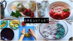 Здоровое питание. Идеи для завтрака