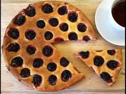 Алена Митрофанова -  Творожный пирог со сливами