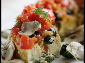 Юлия Высоцкая — Рыбный пирог со шпинатом