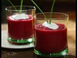 Юлия Высоцкая — Холодный свекольный суп-пюре