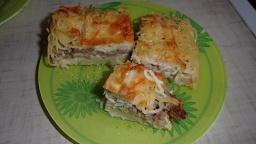 Ольга Уголок -  Очень вкусная макаронная запеканка с фаршем. Запеканка из макарон.
