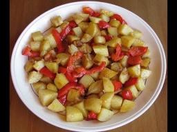 Картошка с болгарским перцем рецепт