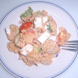 Салат с кускусом   Рецепт Маринкины Творинки